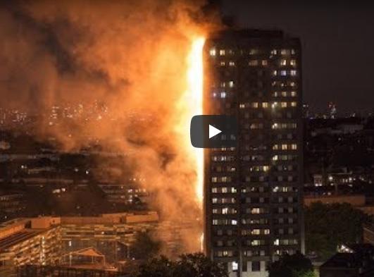 Incendiu intr-un bloc de locuinte din Londra